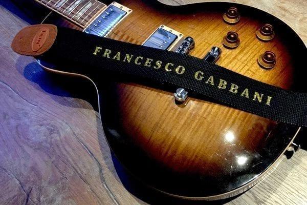 personalised guitar strap uk