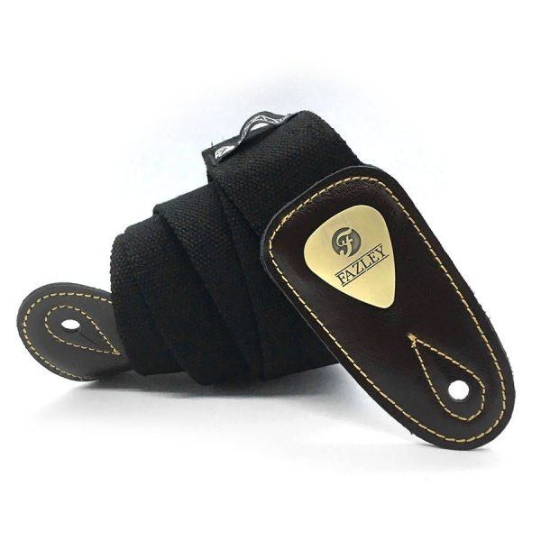 custom cotton guitar strap