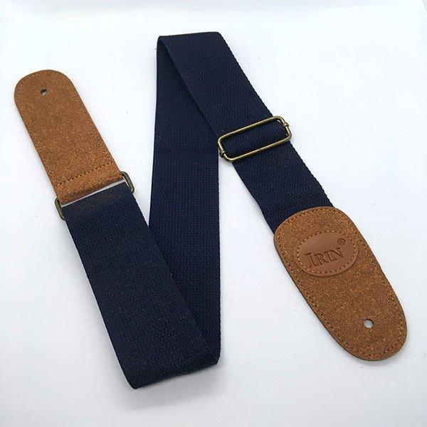 custom blue guitar strap