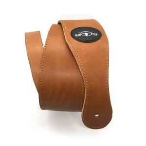 tracolla personalizzata per chitarra o basso in pelle artigianale