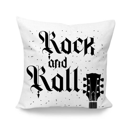 cuscino personalizzato rock chitarra