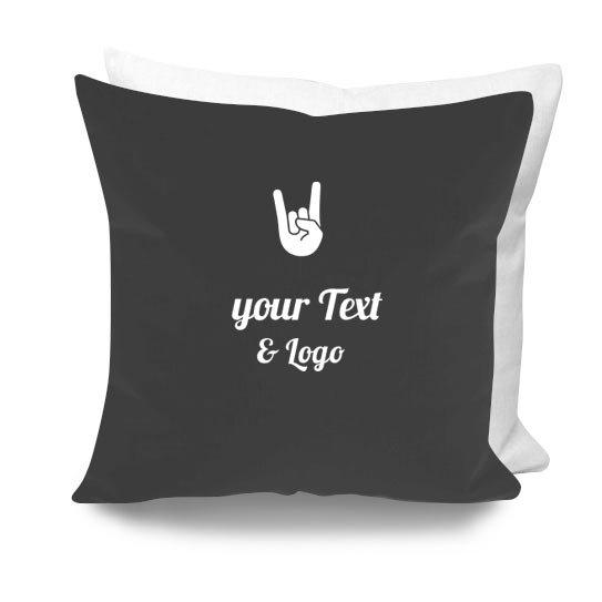 cuscino personalizzato rock musicisti mano rock