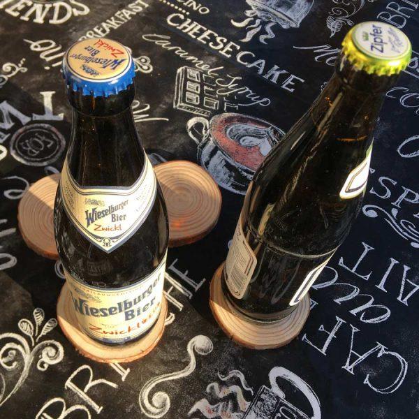 sottobicchieri in legno personalizzati rock birre