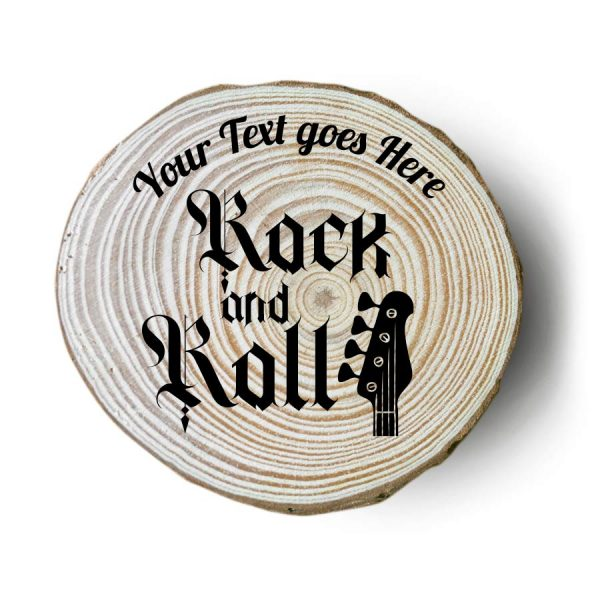 sottobicchieri in legno personalizzati rock basso