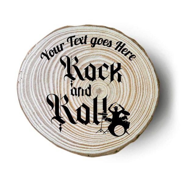 sottobicchieri in legno personalizzati rock batteria