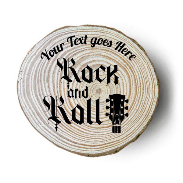 sottobicchieri in legno personalizzati rock chitarra